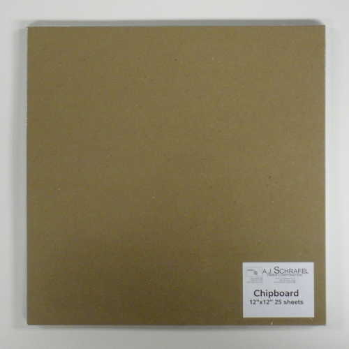 Chipboard 25 sheets/pkt Size: 6 x 8 inches